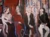 Geloof jij nog in de liefde? 50 x 50 cm, Acryl en olie op doek, 2006