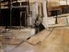 Leando, 100 x 100 cm,  Acryl en olie op doek, 2006