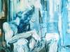 Tines, 160 x 110 cm,  Acryl en olie op doek, 2003