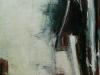 Weglopende man, 160 x 110 cm,  Acryl en olie op doek, 2004