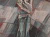 Zeedijk, 160 x 80 cm,  Acryl en olie op doek, 2007