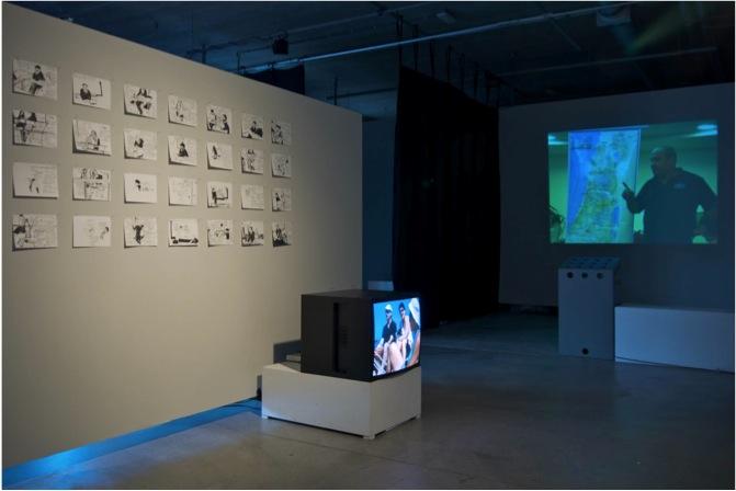 Installatie 'Make Jewish Babies' tijdens BMW festival 2008