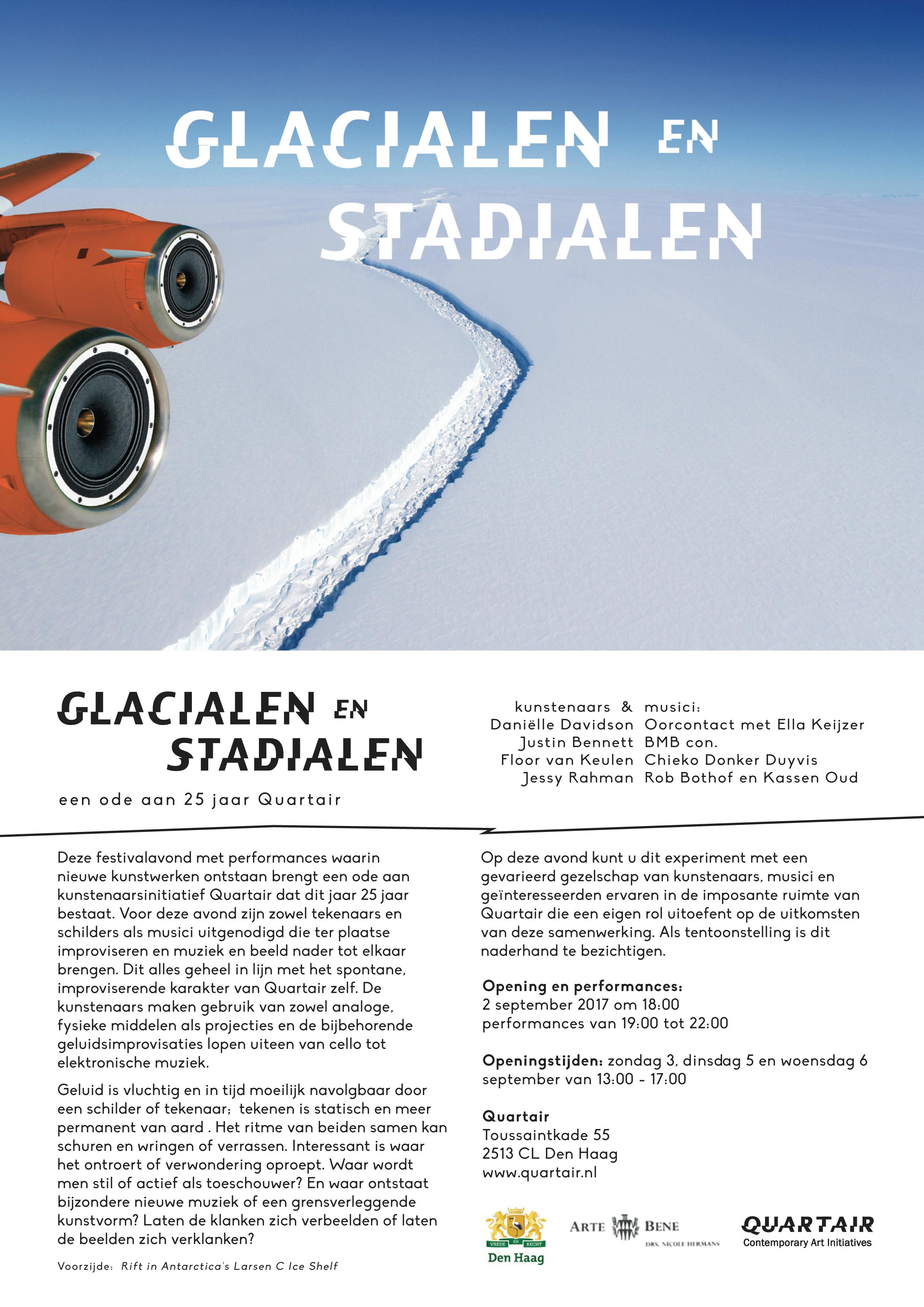 2 september Quartair, Glacialen en Stadialen