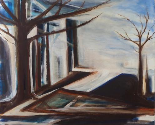 Nature Wins 120 x 100 cm Danielle Davidson 2015