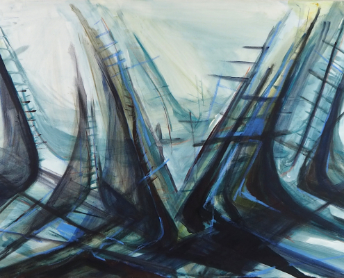 Stairs, 120 x 80 cm, 2014
