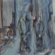 Shoppen in Laren, 6O x 5O cm, 2OO4