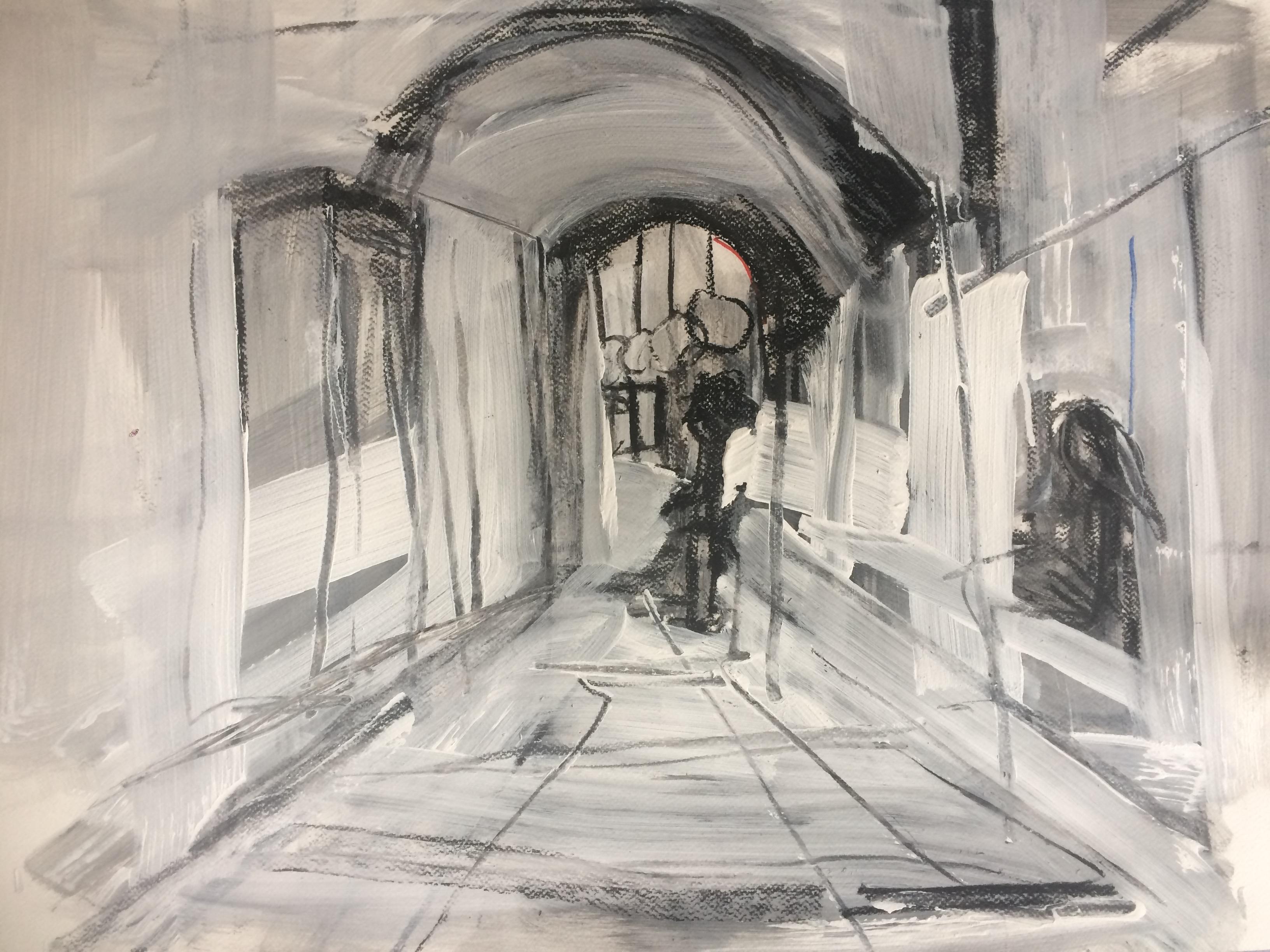 Tekening2 Nacht van Kunst en Kennis DD Sterrewacht 2015