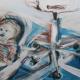 Florian in studio 100 x 50 cm
