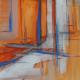 Oranje, 60 x 40 cm, 2015, VERKOCHT