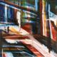 reflextie & kleur 30 x 30 cm 2016 Verkocht