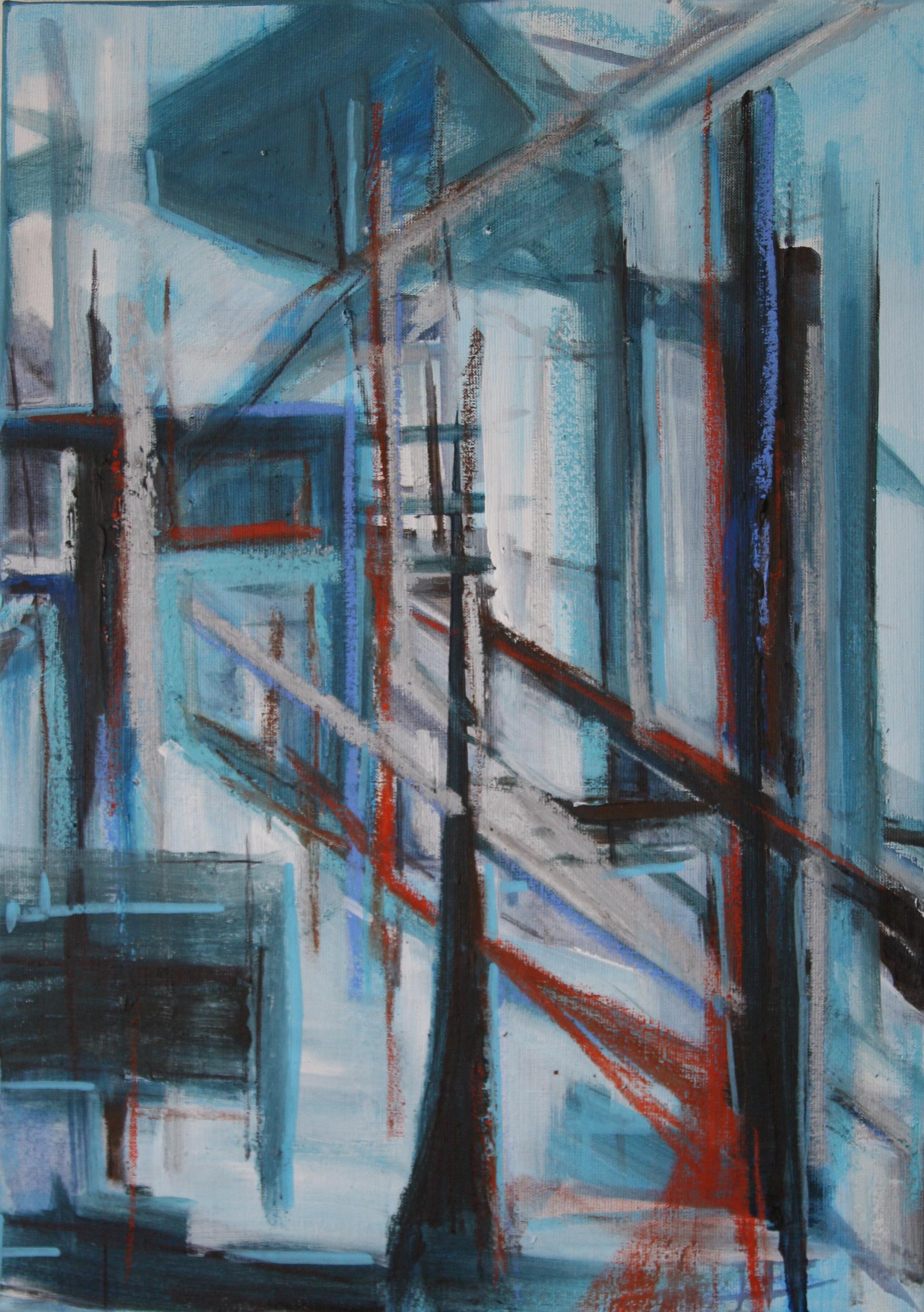 Ruim 60 x 40 cm 2015, Verkocht