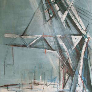 Silodam 160 x 110 cm, 2008, Verkocht