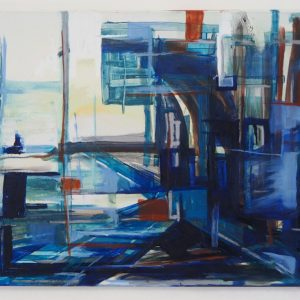 Blue Zone 160 x 110 cm